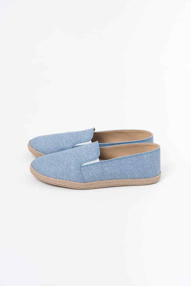 Alpargata Jeans Claro 1