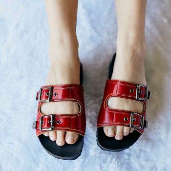Sandália Birken Vermelha