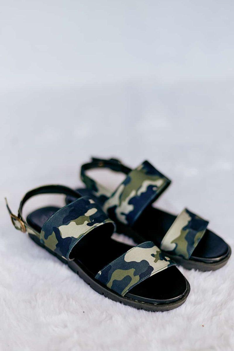 Sandália de Tiras Militar 4
