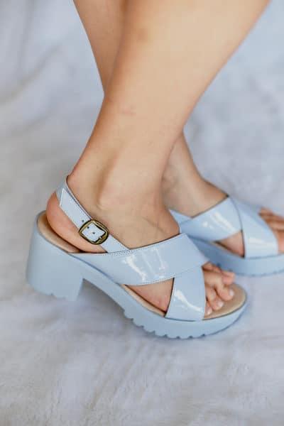 Sandalia de Tiras Salto Alto (53)