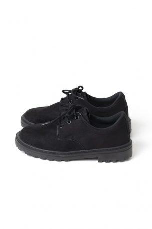 Sapato Tratorado Unissex Camurça Sintética Preta