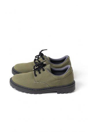 Sapato Tratorado Unissex Verde Oliva