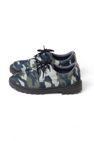 Sapato Tratorado Camuflado Militar