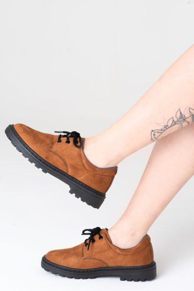 Sapato Tratorado Unissex Marrom