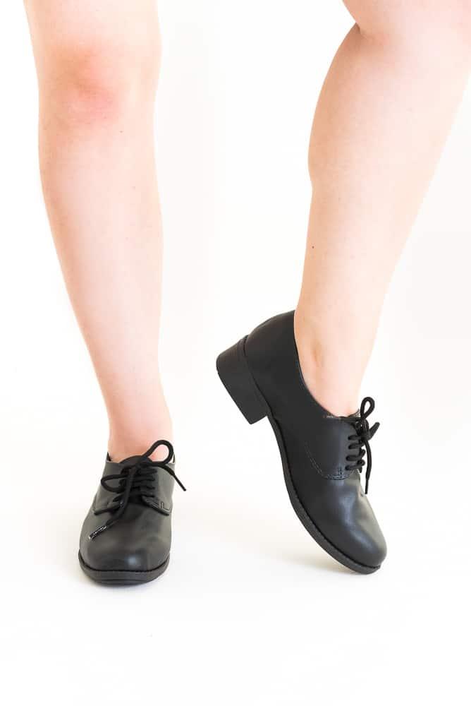 Sapato Oxford Preto (bazar) 3