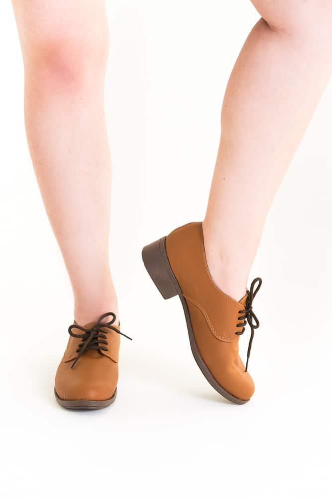 Sapato Oxford Marrom 3