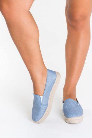 Alpargata Plataforma Jeans