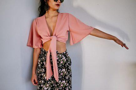 Blusa Tie Top