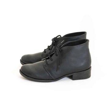 Bota Cadarço All Black