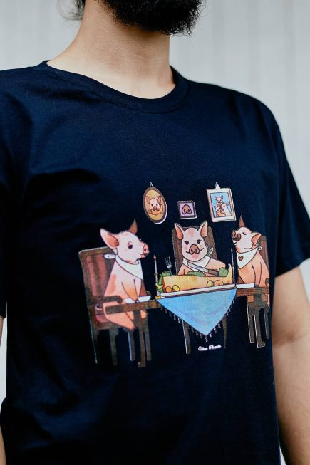 Camisetas Veganas Estampadas