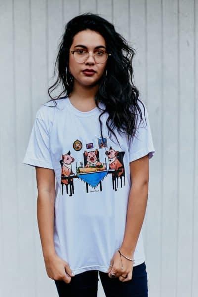 Camisetas Veganas Estampadas (213)