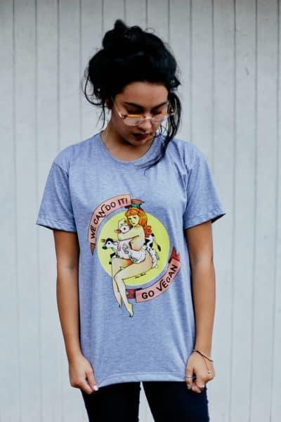 Camisetas Veganas Estampadas (240)