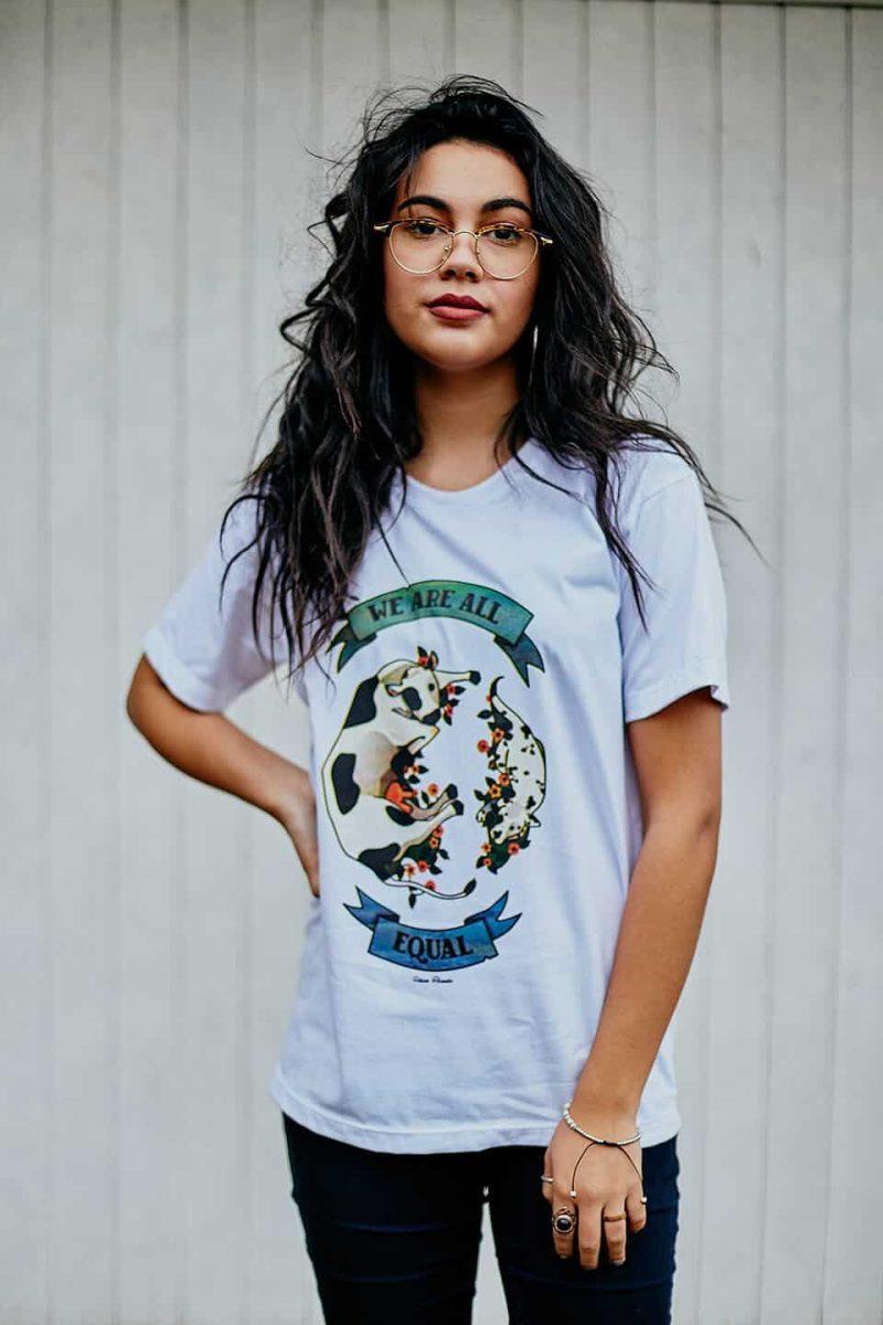 Camiseta ''Equal'' Branca 1