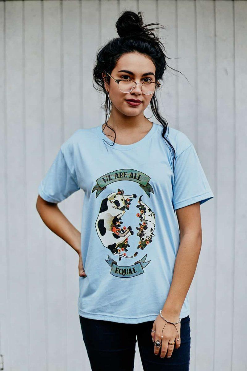 Camiseta ''Equal'' Azul 1
