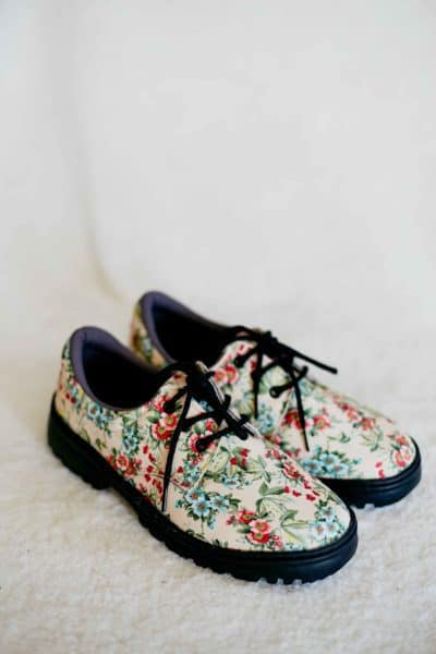 Sapato Casual Floral Liberty