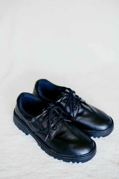 Sapato Casual Sintético Preto