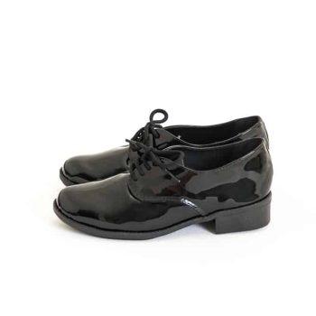 Sapato Oxford Verniz Preto