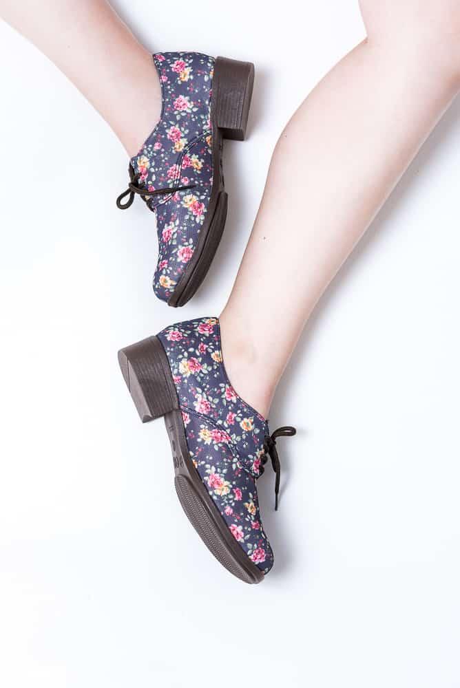Sapato Oxford Floral Liberty 4