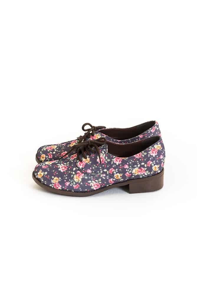 Sapato Oxford Floral Liberty 2