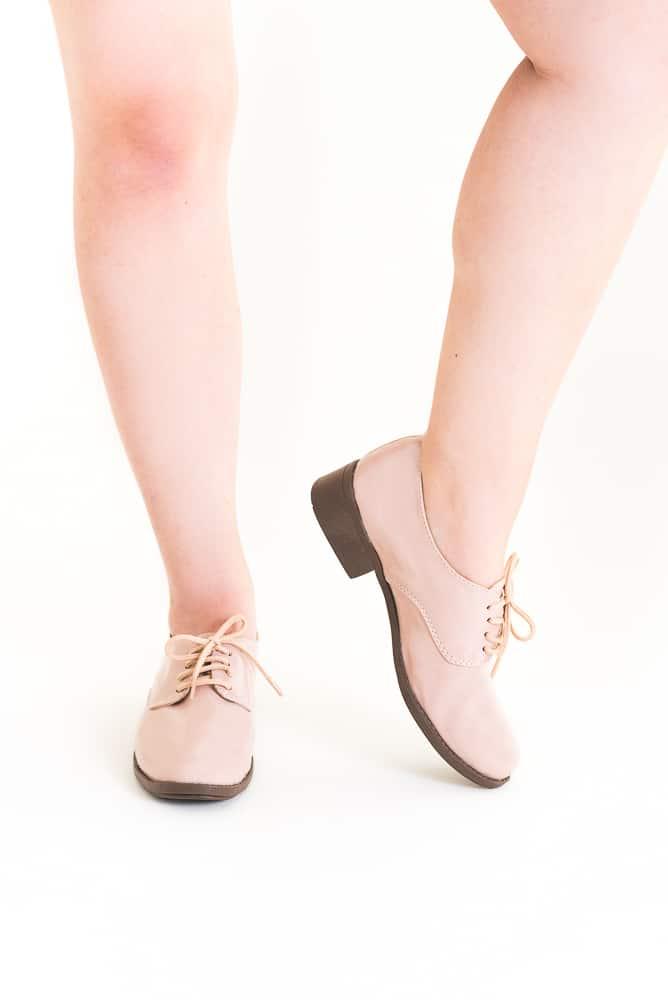 Sapato Oxford Verniz Rosa 4