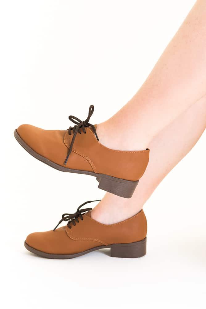 Sapato Oxford Marrom 1