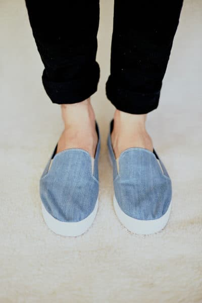 Slip On Unissex Jeans