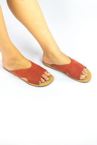 Sandália Dandara Terracota