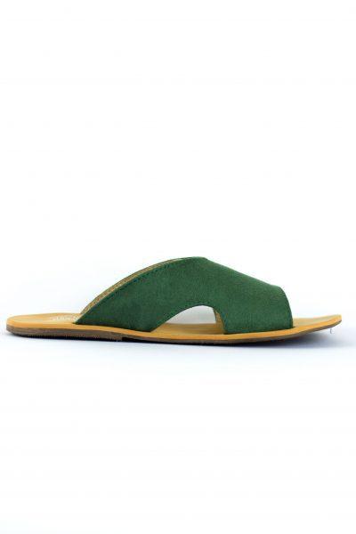 Sandália Dandara Verde Musgo