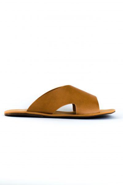 Sandália Dandara Caramelo