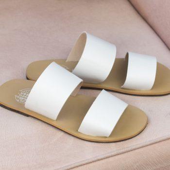 Sandália Nísia Branca