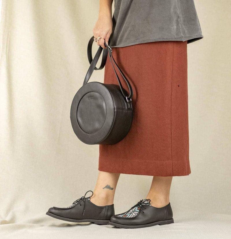Sapato Yule Étnico Preto 3