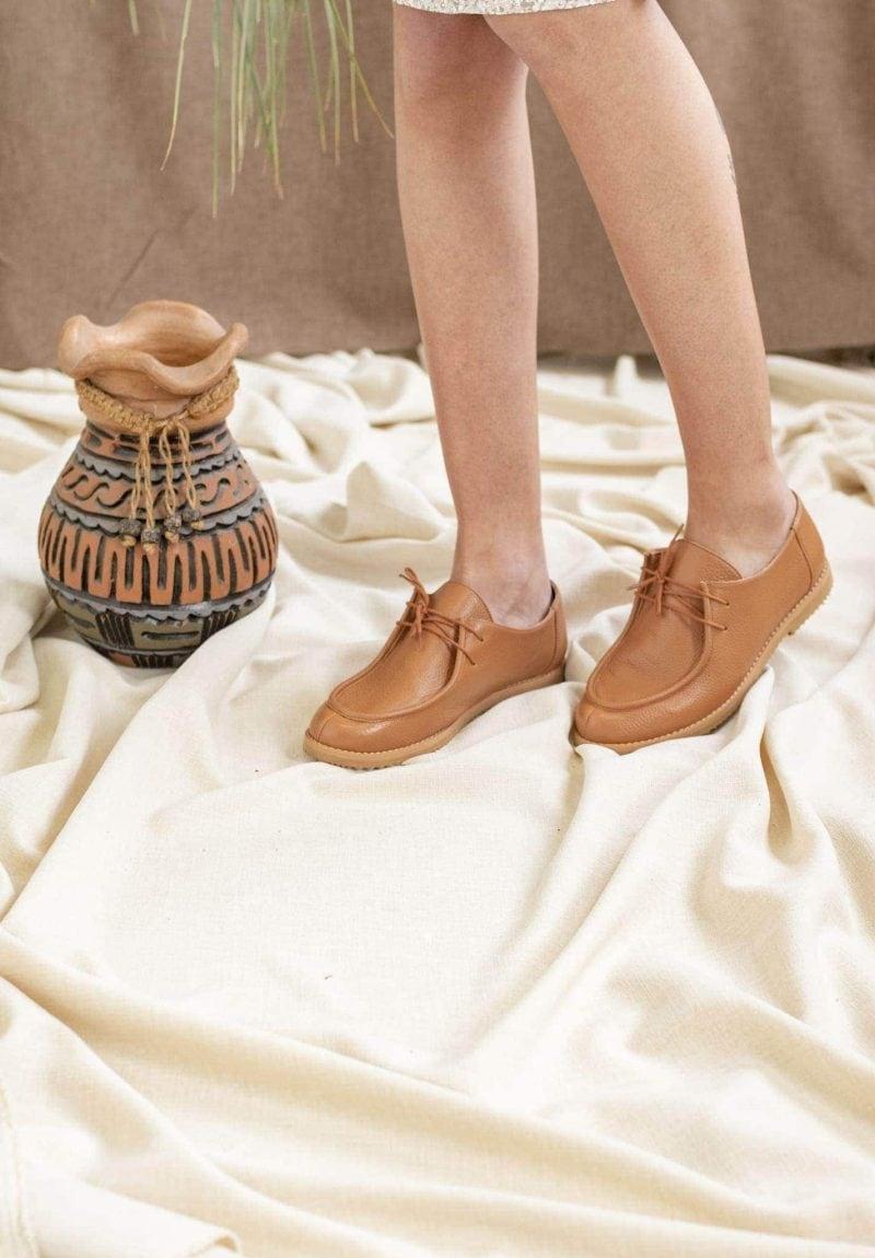 Sapato Yule Conhaque 1