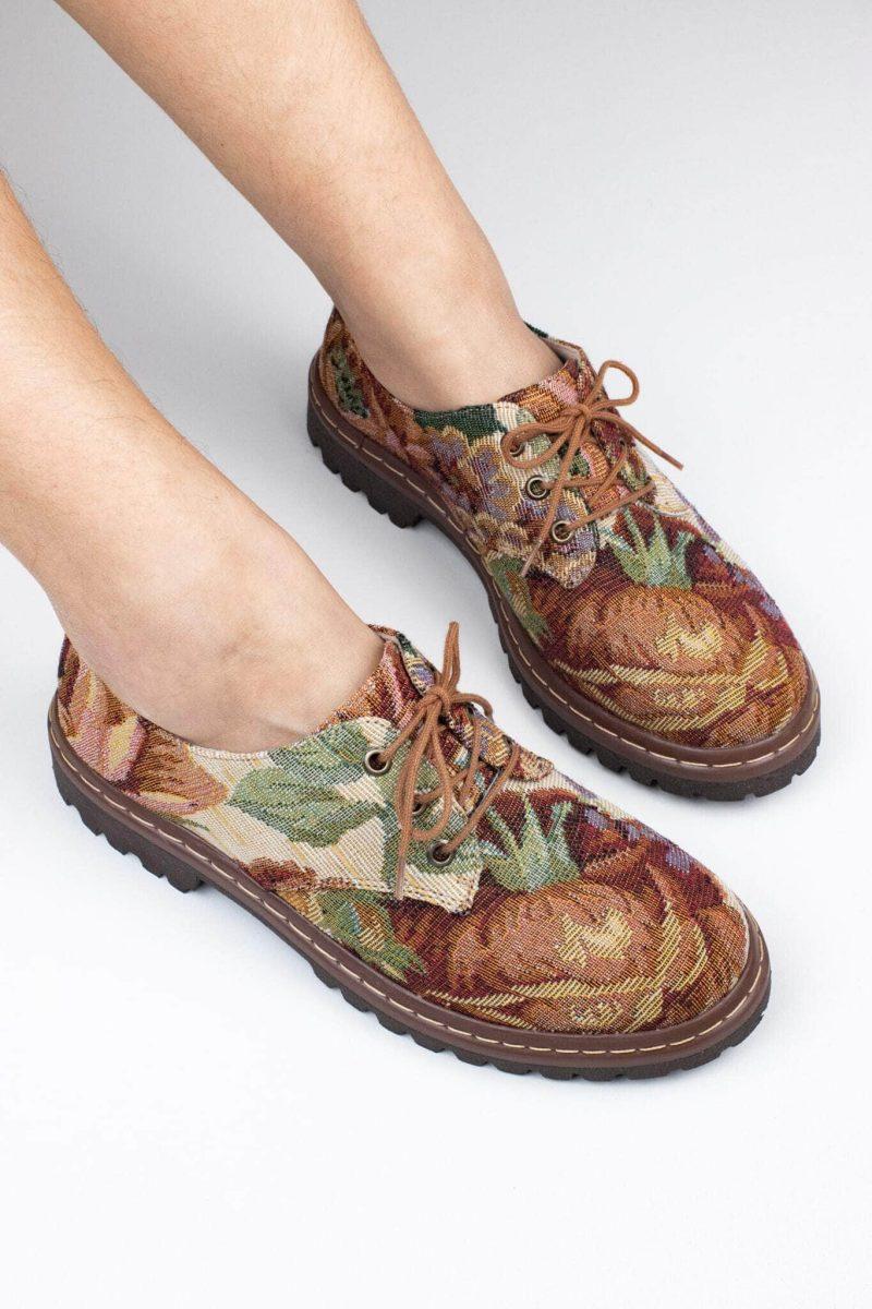 Sapato Tratorado Terra Amarílis 1