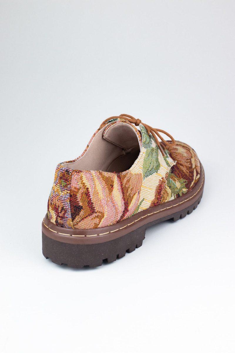 Sapato Tratorado Terra Amarílis 4