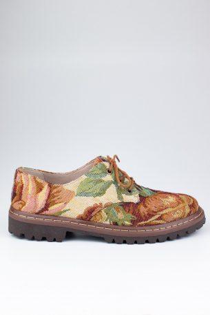 Sapato Tratorado Terra Amarílis