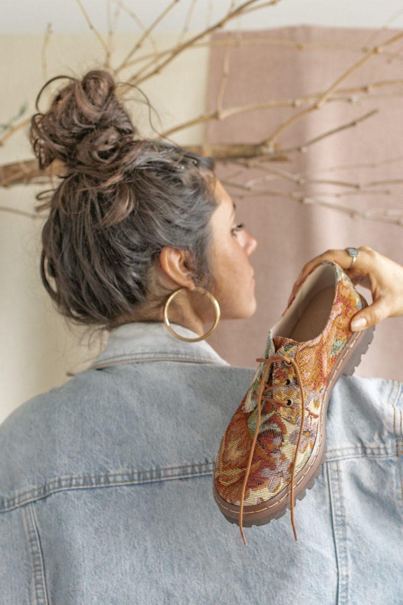 Sapato Tratorado Terra Amarílis 5