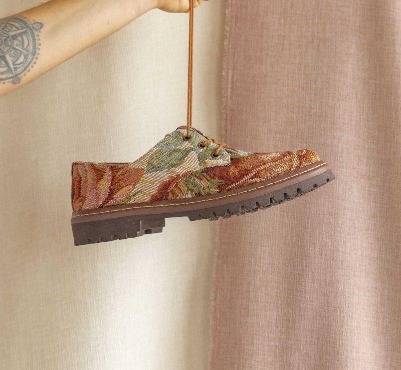 Sapato Tratorado Terra Amarílis 3