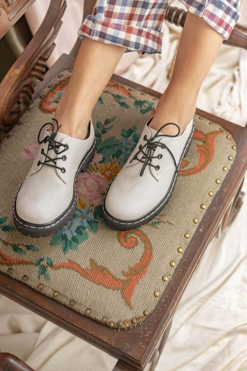 Sapato Tratorado Terra Off White 3