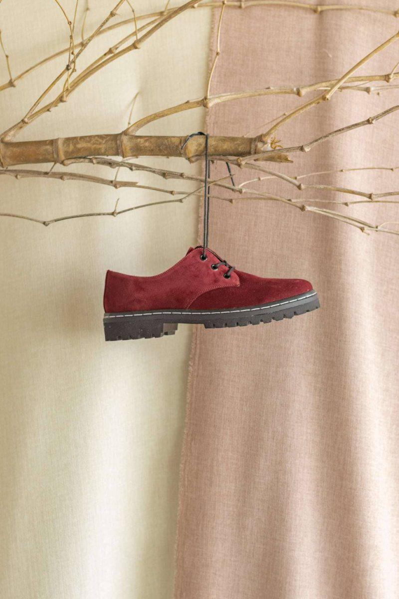 Sapato Tratorado Terra Merlot 1