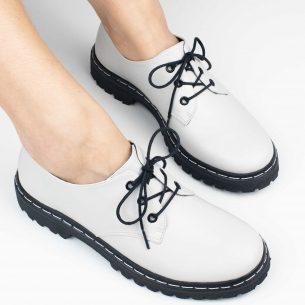 Sapato Tratorado Terra Off White