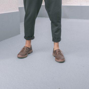 Sapato Tratorado Terra Café