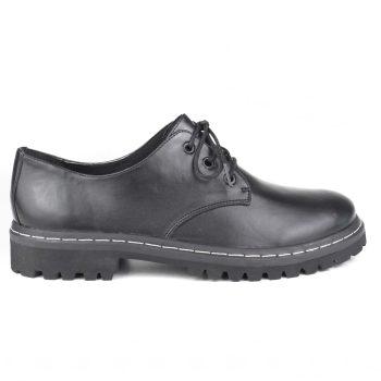 Sapato Tratorado Terra Preto