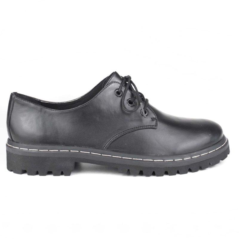 Sapato Tratorado Terra Preto 1