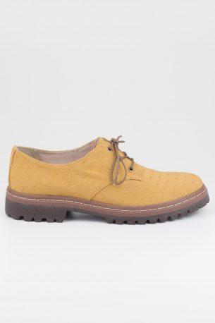 Sapato Tratorado Terra Poá Mostarda