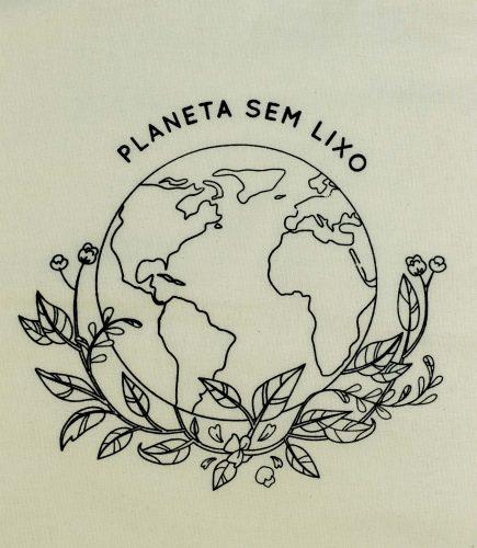 Ecobag Planeta Sem Lixo