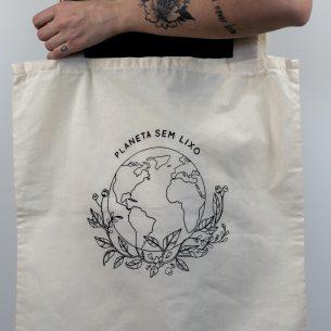 """Ecobag """"Planeta Sem Lixo"""""""