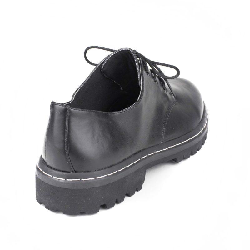 Sapato Tratorado Terra Preto 3
