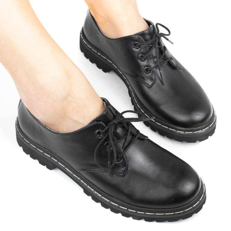 Sapato Tratorado Terra Preto 4