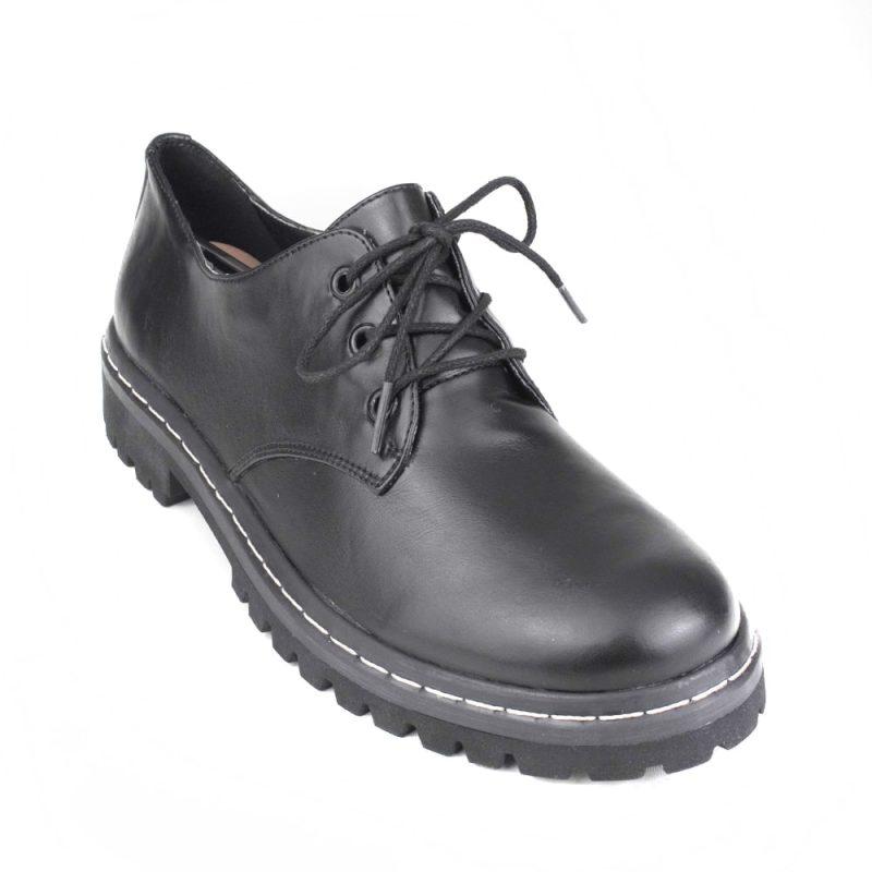 Sapato Tratorado Terra Preto 6
