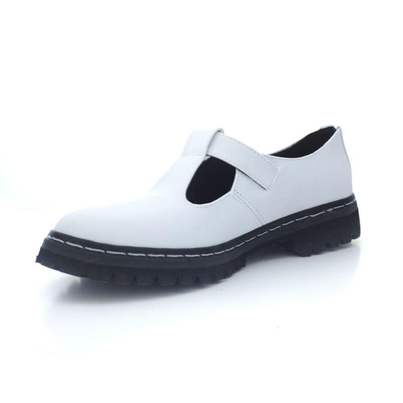 Sapato Tratorado Teodora Branco 3